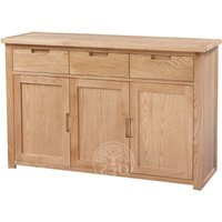 Melrose Oak Large Sideboard