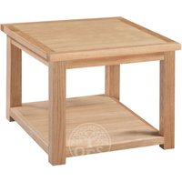 Read more about Melrose oak side table with shelf