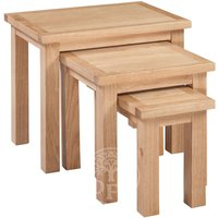 Read more about Melrose oak nest of tables