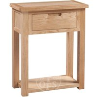 Read more about Melrose oak small console table