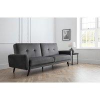 Leguria Sofa bed in Dark Grey Velvet