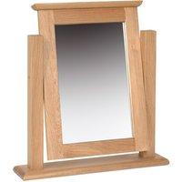 Novel Oak Single Dressing Table Mirror