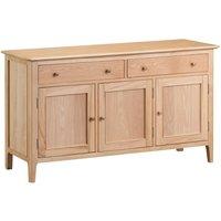 Sadie 3 Door 2 Drawer Oak Sideboard