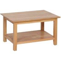 Product photograph showing Novel Oak Medium Coffee Table