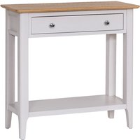 Read more about Daniella oak and grey console table