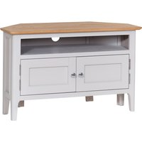 Read more about Daniella oak and grey corner tv unit