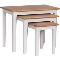 Read more about Daniella oak and grey nest of 3 tables