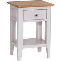Read more about Daniella oak and grey side table