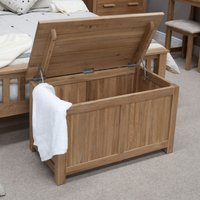 Read more about Rohan oak blanket box