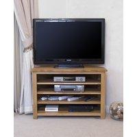 Read more about Rohan oak corner tv unit