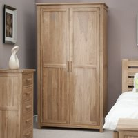 Rohan Oak Double Ladies Wardrobe