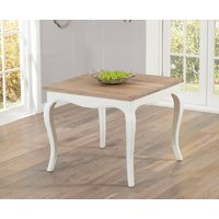 Product photograph showing Parisian 90cm Shabby Chic Dining Table