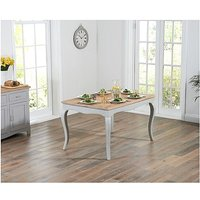 Product photograph showing Ex-display Parisian 130cm Grey Shabby Chic Dining Table