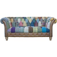 Harley Patchwork 2 Seater Sofa
