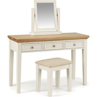 Read more about Oskar oak and white dressing table set