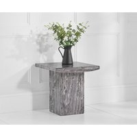Read more about Crema grey marble side table