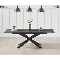 Product photograph showing Ex-display Boston 180cm Extending Grey Stone Dining Table