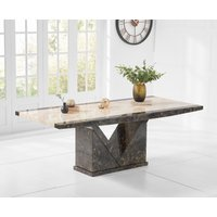 Tenore 220cm Extra Large Marble Effect Dining Table
