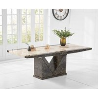 Ex-display Tenore 220cm Extra Large Marble Effect Dining Table