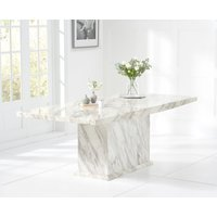 Read more about Calacatta 220cm marble effect dining table