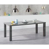 Read more about Atlanta 200cm dark grey high gloss dining table