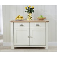 Read more about Somerset 2 door 2 drawer oak and cream sideboard