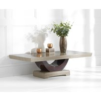 Read more about Raphael brown marble coffee table