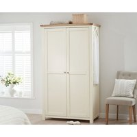 Read more about Somerset oak and cream two door wardrobe