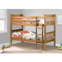 Product photograph showing Nebraska Pine Bunk Bed