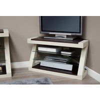 Read more about Infinity painted wenge top corner tv unit