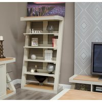 Read more about Infinity painted natural top large bookcase