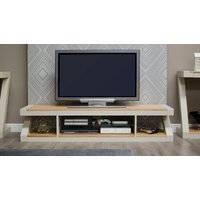 Read more about Infinity painted natural top large tv cabinet