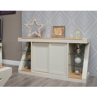 Infinity Painted Natural Top Large Sideboard