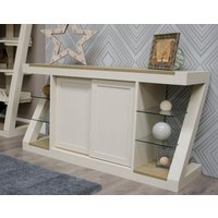 Infinity Painted Smoke Top Large Sideboard