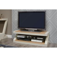 Read more about Infinity painted natural top plasma cabinet