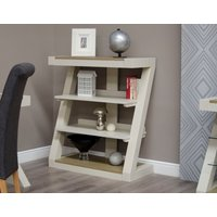 Read more about Infinity painted smoke top small bookcase