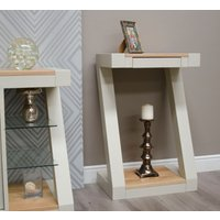 Read more about Infinity painted natural top small hall table