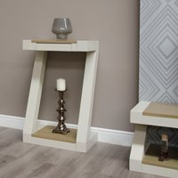 Read more about Infinity painted smoke top small hall table