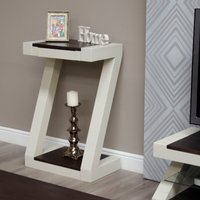 Read more about Infinity painted wenge top small hall table