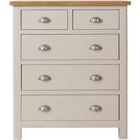 Read more about Fay oak and grey 2 over 3 drawer chest
