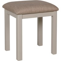 Product photograph showing Fay Grey Dressing Table Stool