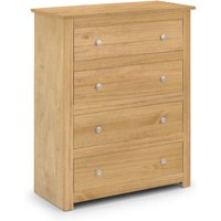 Radley 4 Drawer Chest in Waxed Pine