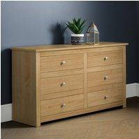 Radley 6 Drawer Chest in Waxed Pine