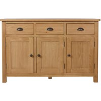 Noah 3 Drawer 3 Door Sideboard