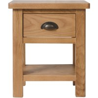 Read more about Noah 1 drawer lamp table