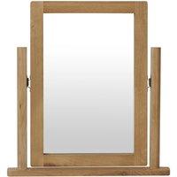 Noah Rustic Oak Trinket Mirror