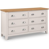 Product photograph showing Richmond 6 Drawer Wide Chest