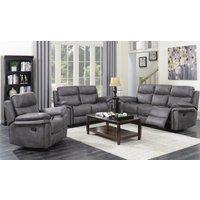 Ripley Graphite Grey 3 Seater Sofa