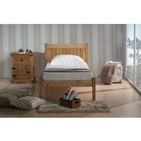 Milwaukee Waxed Pine Single Bed