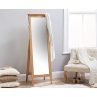 Read more about Sadie oak cheval mirror